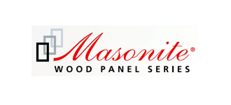 masonite wood panel series logo